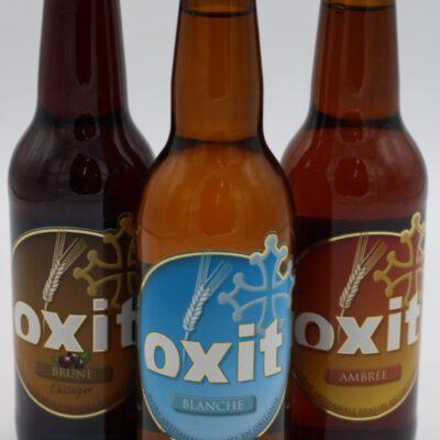 Bières oxit 33cl de l'épicerie primeur nos champs occitans à montauban