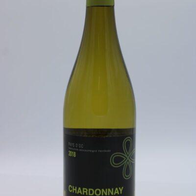 chardonnay pays d'oc 75 cl de l'épicerie primeur nos champs occitans à montauban