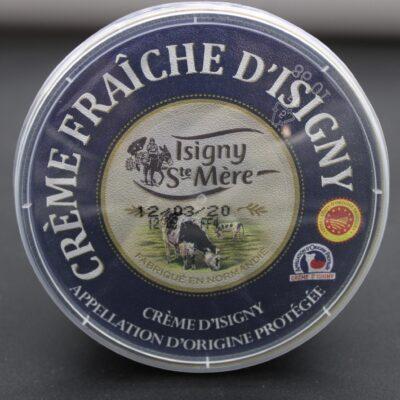 crème fraîche d'Isigny de l'épicerie primeur nos champs occitans à montauban