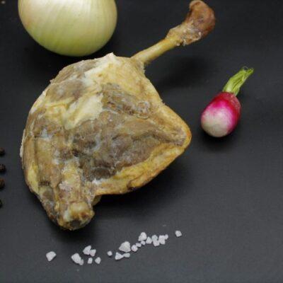 cuisse de canard gras confite de l'épicerie primeur nos champs occitans à montauban