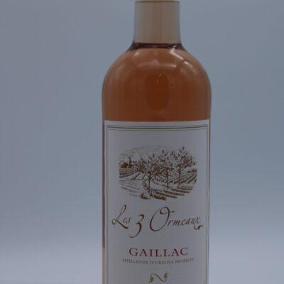 Vin rosé gaillac les 3 ormeaux de l'épicerie primeur nos champs occitans à montauban