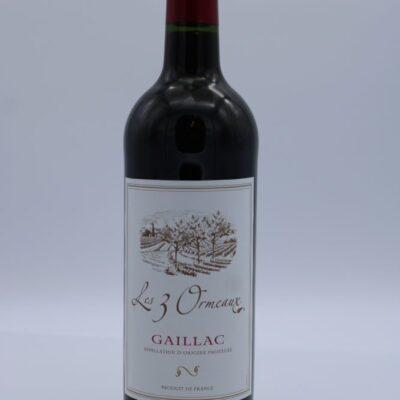 Vin rouge de gaillac les 3 ormeaux de l'épicerie primeur nos champs occitans à montauban