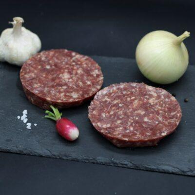 steak hâchés de boeuf de l'épicerie primeur nos champs occitans à montauban
