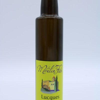 Huile d'olive variété lucques de l'épicerie primeur nos champs occitans à montauban