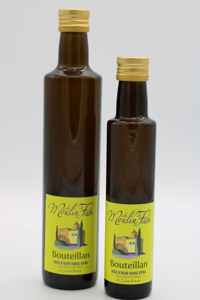 Huiles d'olive bouteillan de l'épicerie primeur nos champs occitans à montauban