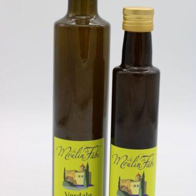 huile d'olive verdale de l'épicerie primeur nos champs occitans à montauban