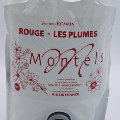 Cubi 3l de rouge du domaine de montels de l'épicerie primeur nos champs occitans à montauban