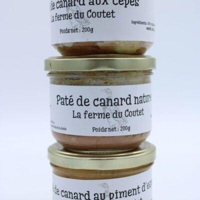 pâtés de canard des champs occitans à montauban