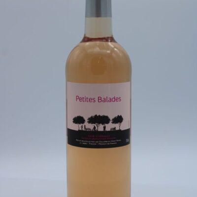 vin rosé pays de l'hérault de l'épicerie primeur nos champs occitans à montauban