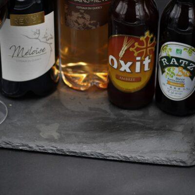 Bières, vins
