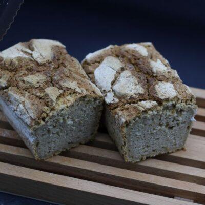 Demi pain d'avoine bio de l'épicerie primeur nos champs occitans à montauban