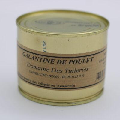 Galantine de poulet de l'épicerie primeur nos champs occitans à montauban