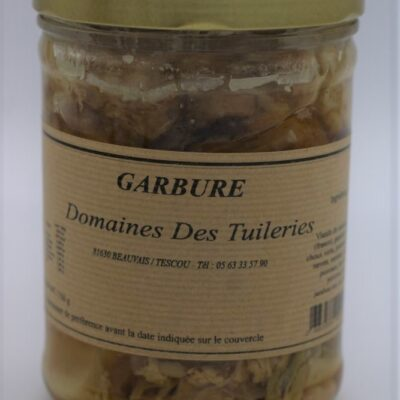 garbure en conserve de 750 gr de l'épicerie primeur nos champs occitans à montauban