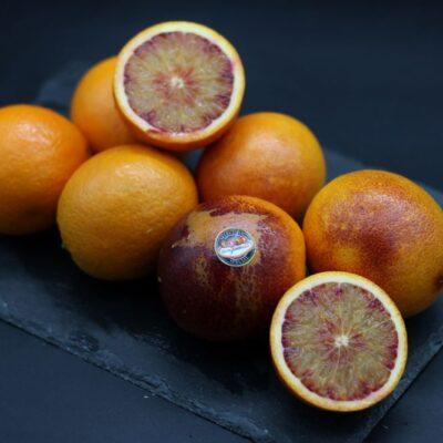 Oranges sanguines de l'épicerie primeur nos champs occitans à montauban