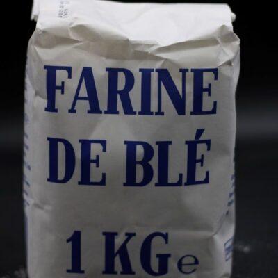 1 kg de farine de blé t55 de l'épicerie primeur nos champs occitans à montauban