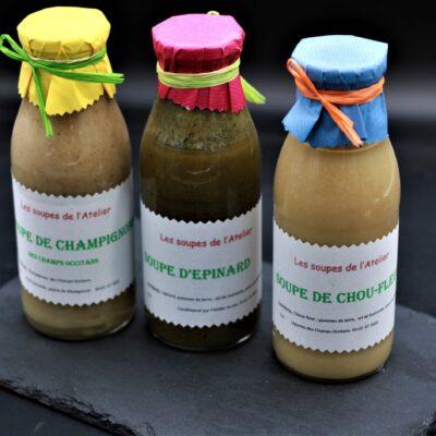 soupes de l'épicerie primeur nos champs occitans à montauban