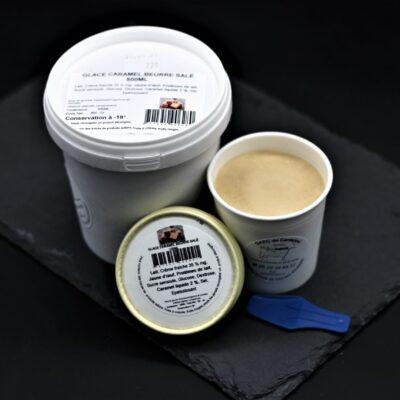 glacew au caramel beurre salé de l'épicerie primeur et driuve nos champ^s occitans à montauban