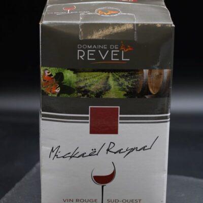 cubi 5 litre du domaine de Revel de l'épicerie primeur et drive nos champs occitans à montauban