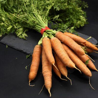 botte de carottes fanes de l'épicerie primeur et drive nos champs occitans à montauban